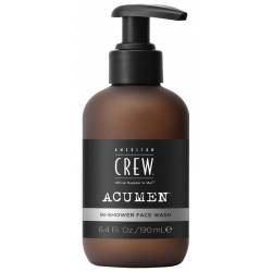 Гель для умывания American Crew Acumen In-Shower Face Wash 190 ml