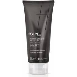 Гель для волос сверхсильной фиксации 5 Dott. Solari #Style Black Line Extra Strong Hold Gel 200 ml
