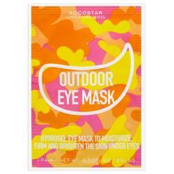 Гидрогелевые патчи для глаз на тканевой основе (2 патча 1 пара) Kocostar Hydrogel Eye Mask CAMOUFLAGE OUTDOOR EYE MASK 2 pc
