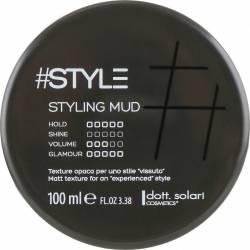 Глина для стайлинга уровень фиксации 5 Dott. Solari #Style Black Line Styling Mud 100 ml