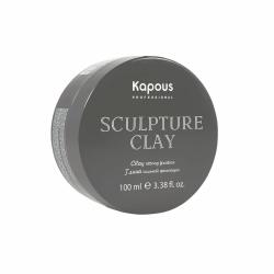 Глина для укладки волос нормальной фиксации Kapous Professional Styling Sculpture Clay 100 ml
