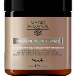 Интенсивная маска для гладкости жестких и плотных волос Nook Magic Arganoil Disciplining Intensive Mask 250 ml