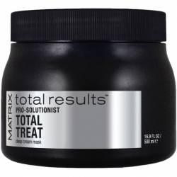 Интенсивно восстанавливающая маска для ослабленных волос Matrix Total Results Pro Solutionist Total Treat 500 ml
