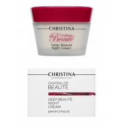 Интенсивный обновляющий ночной крем Christina Chateau de Beaute Deep Beaute Night Cream 50 ml