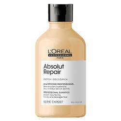 Восстанавливающий шампунь для сильно повреждённых волос L'Oreal Professionnel Serie Expert Absolut Repair Gold Quinoa + Protein Shampoo 300 ml