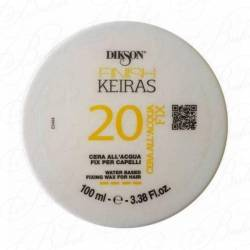 Воск для волос на основе ароматизированной воды(лимон) Dikson Finish Keiras 20 Water Based Fixing Wax 100 ml