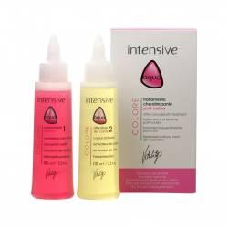 Кератиновий догляд для фарбованого волосся VITALITYS Aqua Colore Keratin Treatment 2x100 ml