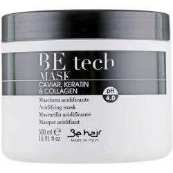 Кислая рН-маска с кератином и коллагеном Be Hair Be Tech Acidifying Mask 500 ml