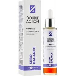 Комплекс регулирующий работу сальных желез Hair Company Professional Double Action Sebo Balance Complex 50 ml