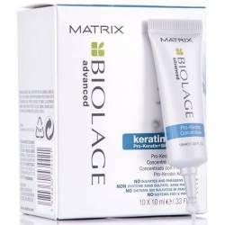 Концентрована сироватка для пошкодженого волосся Matrix Biolage Keratindose Concentrate 10x10 ml