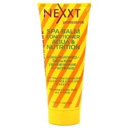 Кондиционер-бальзам для увлажнения и питания волос Nexxt Professional SPA BALM-CONDITIONER AQUA and NUTRITION 200 ml
