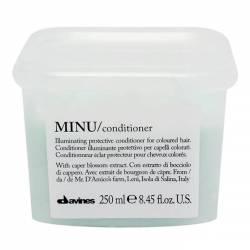 Кондиционер для придания блеска и защиты цвета волос Davines Minu Conditioner 250 ml