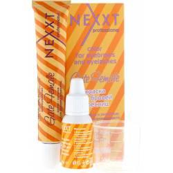 Краска для бровей и ресниц + стимулятор роста (графит) Nexxt Professional 20 ml+10 ml