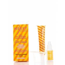 Фарба для брів і вій + стимулятор росту набір (коричнева) Nexxt Professional 20 ml + 10 ml