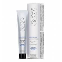Краска для волос без аммиака 6. Zero Seipuntozero Krompure 100 ml