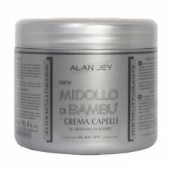 Крем-бальзам для волос с вытяжкой бамбука Alan Jey Crema Capelli Al Midollo Di Bambu 500 ml