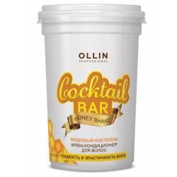 Крем-кондиционер для волос Медовый Коктейль гладкость и эластичность волос Ollin Professional 500 ml