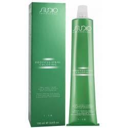 Крем-краска для волос с экстрактом женьшеня и рисовыми протеинами Kapous Professional Studio 100 ml