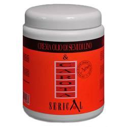 Крем-маска для волос с экстрактом моркови и семени льна Echosline Pettenon Serical Carota 1 L