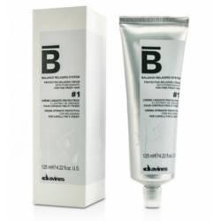 Крем для химического выпрямления тонких волос Davines Protective relaxing cream #1, 125 ml