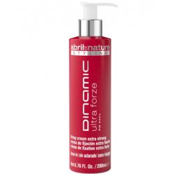 Крем для укладки экстрасильной фиксации Abril et Nature Advanced Stiyling Dinamic Ultra Forze 200 ml