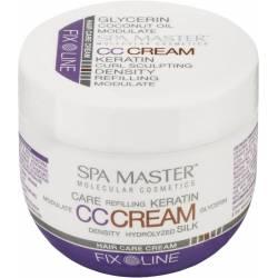 Крем для волос уплотняющий с кератином средней фиксации Spa Master Fix Line Hair Care Cream with Keratin 100 ml
