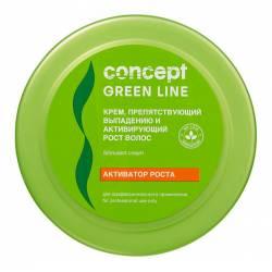 Крем, препятствующий выпадению и активирующий рост волос Concept Stimulant Cream 300 ml