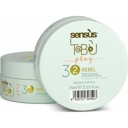 Кремообразная паста средней фиксации для волос Sens.us Tabu Rebel Pasta 32, 75 ml