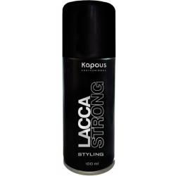 Лак для волос аэрозольный без фреона сильной фиксации Kapous Professional Lacca Strong 100 ml