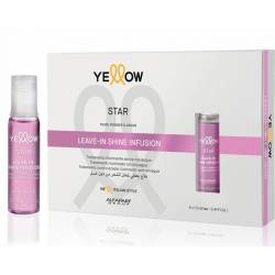 Лосьон-блеск для волос Alfaparf Yellow Star Leave-in Shine Infusion 6x13 ml