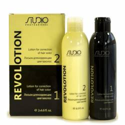 Лосьон для коррекции цвета волос Kapous Professional Lotion For Correction Of Hair Color RevoLotion 2x150 ml