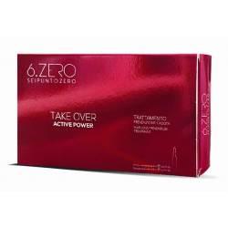 Лосьон против выпадения волос 6. Zero Seipuntozero Take Over Acive Power 10x8 ml