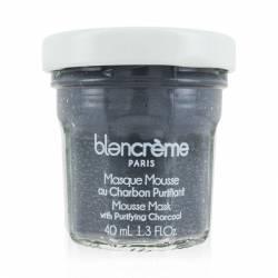 Маска-мусс для лица очищающая Уголь Blancrème Mousse Mask with Purifying Charcoal 40 ml