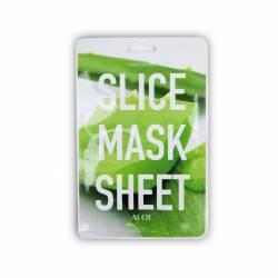 Маска-слайс для лица Алоэ Вера (2 листа по 6 шт) Kocostar SLICE MASK SHEET (ALOE) 2x6 pc