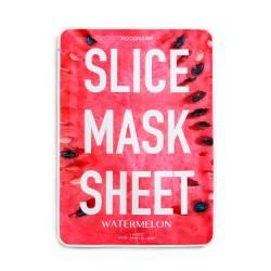 Маска-слайс для лица Арбуз (2 листа по 6 шт) Kocostar SLICE MASK SHEET (WATERMELON) 2x6 pc