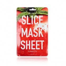 Маска-слайс для лица Томат (2 листа по 6 шт) Kocostar SLICE MASK SHEET (TOMATO) 2x6 pc