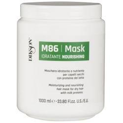Маска баланс питания и увлажнения для всех типов волос с молочными протеинами Dikson M 86 Mask 1 L