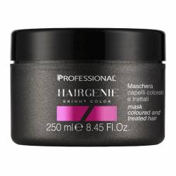 Маска для блеска волос Professional Hairgenie Bright Color Mask For Coloured and Treated Hair 250 ml