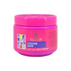 Маска для холодных оттенков волос Elinor Professional Anti-Yellow Care Mask 500 ml