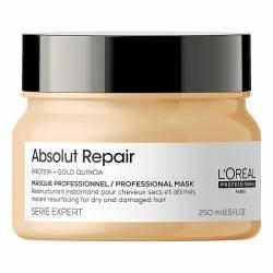 Маска для интенсивного восстановления поврежденных волос L'Oreal Professionnel Serie Expert Absolut Repair Gold Quinoa+Protein Mask 250 ml