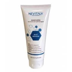Маска для поврежденных волос с кератином и гиалуроновой кислотой Nevitaly  Ialo3 Keratin Mask 200 ml