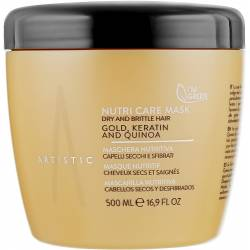 Маска для сухих и ломких волос Artistic Hair Nutri Care Mask 500 ml