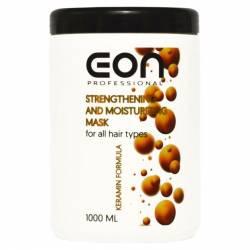 Маска для укрепления и увлажнения волос EON Professional Strengthening and Moisturizing Mask 1000 ml