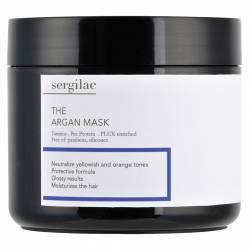Маска для волос с аргановым маслом Sergilac The Argan Mask 500 ml