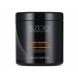 Маска для восстановления сухих и поврежденных волос 6. Zero Seipuntozero Herbe Treatment 1000 ml