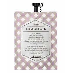 Маска для восстановления водного баланса волос и кожи головы Davines The Let It Go Circle 50 ml