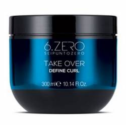 Маска для вьющихся волос 6. Zero Seipuntozero Take Over Define Curl Mask 300 ml