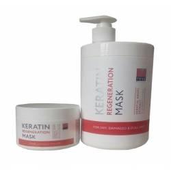 Маска кератиновая регенерация для волос Teya Professional Keratin Regeneration Mask 250 ml