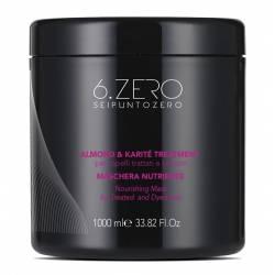 Маска питательная для поврежденных и окрашенных волос 6. Zero Seipuntozero Nourishing Mask 1000 ml