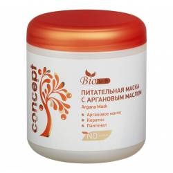Маска питательная  для волос с Аргановым маслом Concept Argana Mask 500 ml